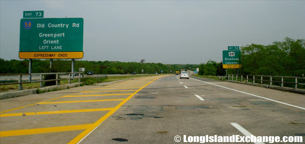 Long Island Expressway ends