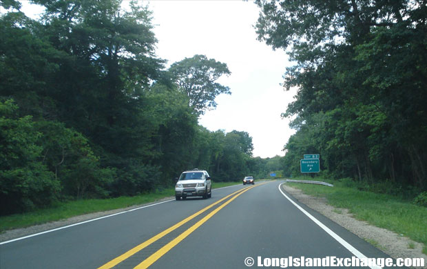 Bethpage State Parkway Northbound to Boundary Ave Exit, North Massapequa
