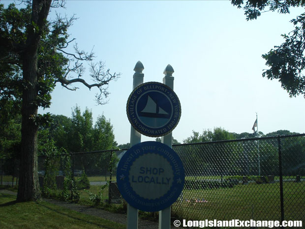 Bellport Sign
