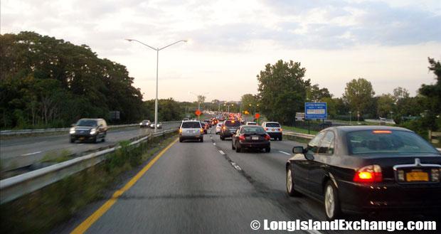Belt Parkway eastbound from Rockaway Parkway, Canarsie Brooklyn