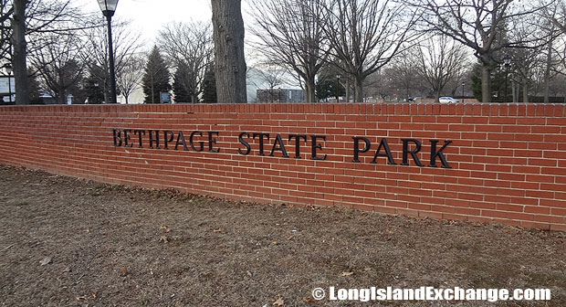 Bethpage State Park Brick Wall