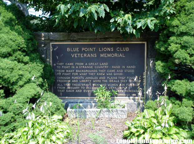 Blue Point Memorial