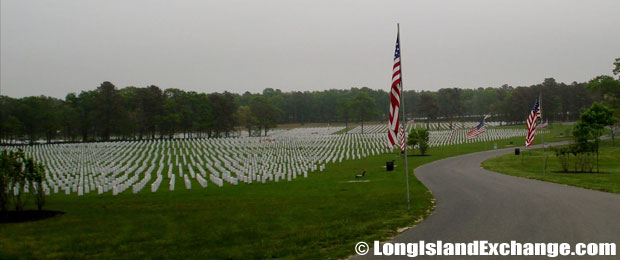 Calverton National Cemetary