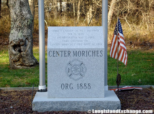 Center Moriches Dedication