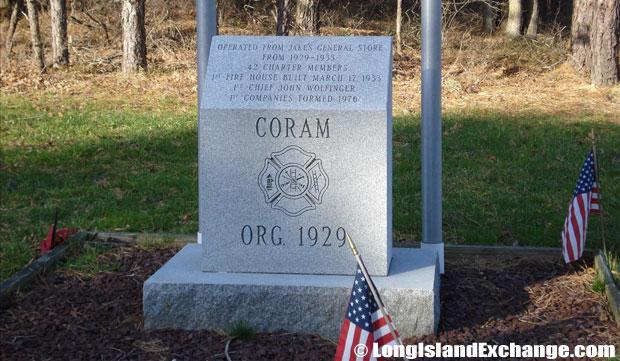 Coram Headstone
