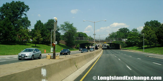 Cross Island Parkway Northbound at Jamaica Avenue, Bellerose