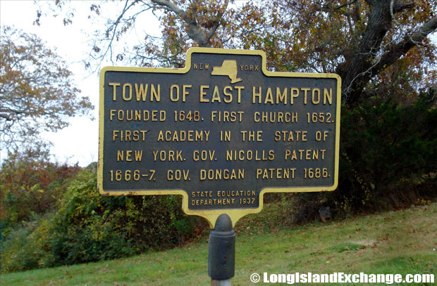 East Hampton Marker