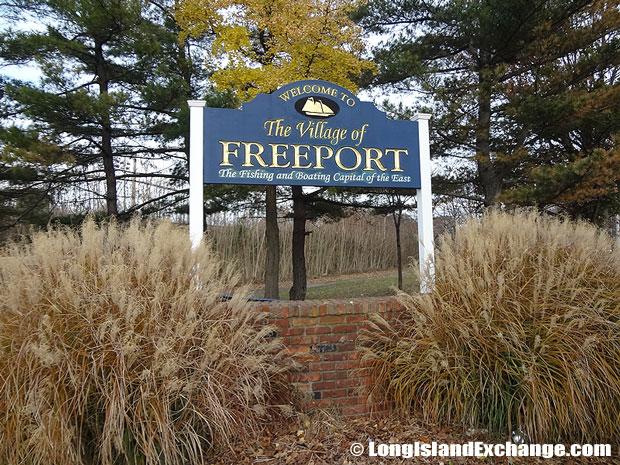 Freeport Village Sign