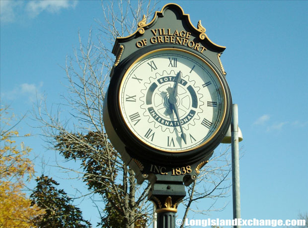 Greenport Clock