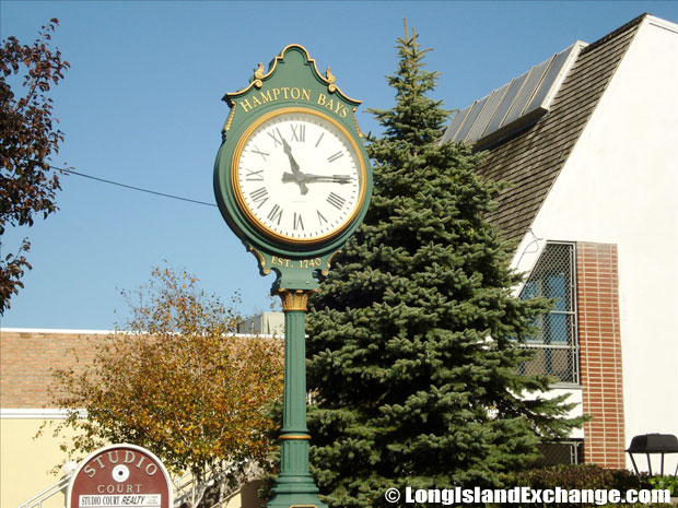 Hampton Bays Clock