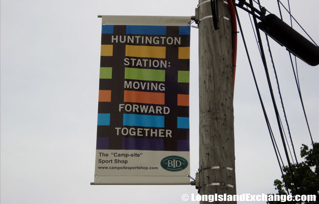 Huntington Station Banner