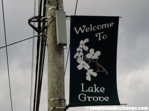 Lake Grove Banner
