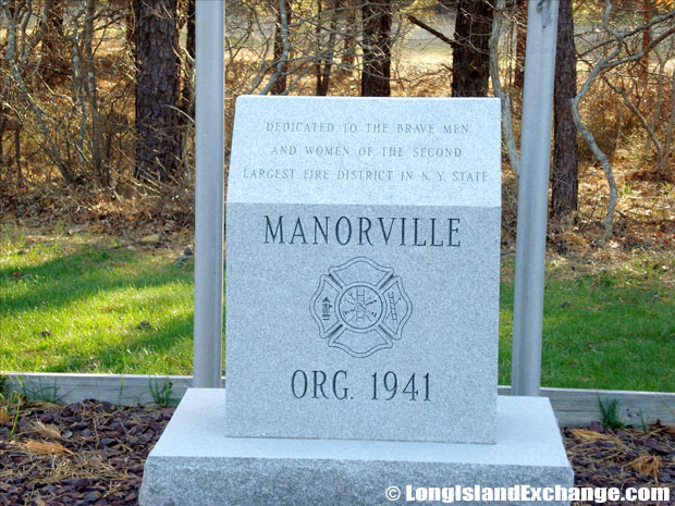 Manorville Dedication