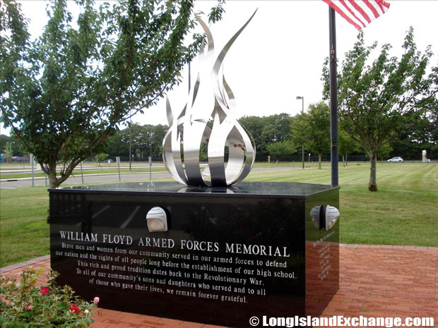 Mastic William Floyd Armed Forces Memorial