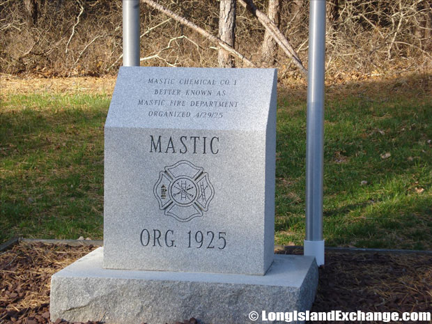 Mastic Dedication