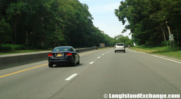 Northern State Parkway Westbound from Walt Whitman Road, Melville