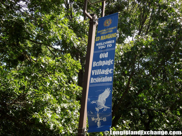 Old Bethpage Village Banner