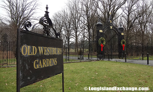 Old Westbury Gardens has 160 acres of formal gardens, landscaped grounds, and woodlands.