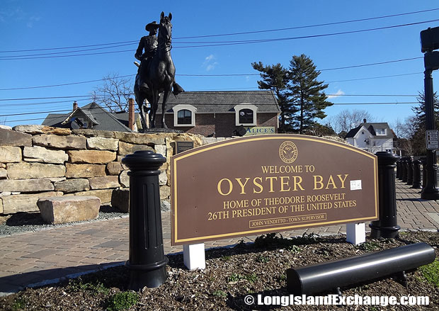 Oyster Bay is a hamlet and census-designated place located in Nassau County, on the north shore of Long Island, New York. It is within the Town of Oyster Bay which contains 18 villages and 18 hamlets.