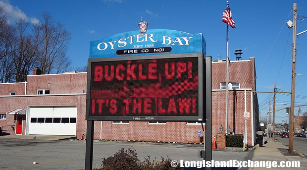 The Oyster Bay Fire Department serves the people of Oyster Bay, Oyster Bay Cove, Cove Neck, parts of Mill Neck and Laurel Hollow