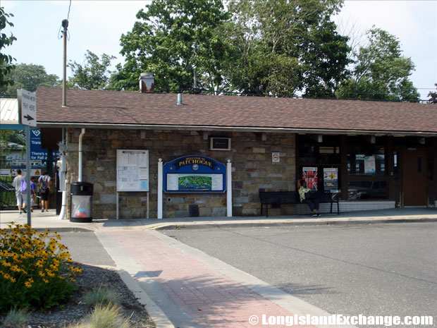 Patchogue Train Station