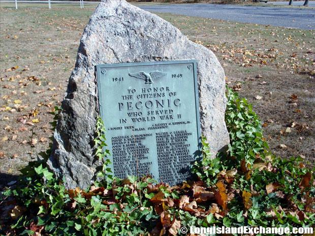 Peconic Memorial