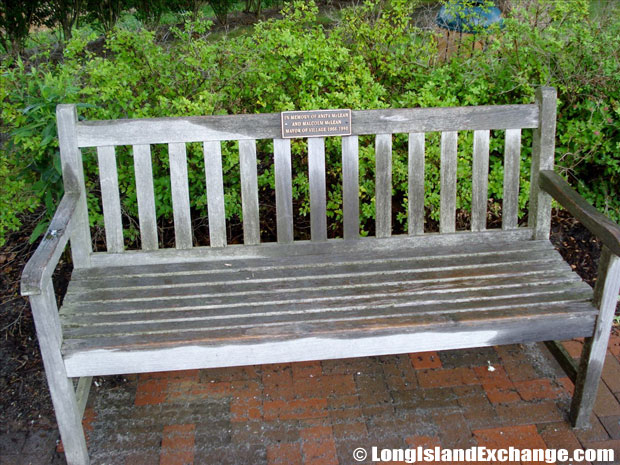 Quogue Historic Bench
