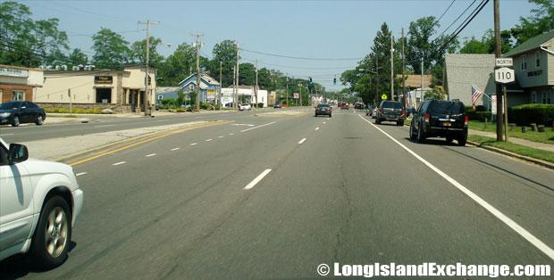 Route 110 Southbound by Adventure Land, Farmingdale