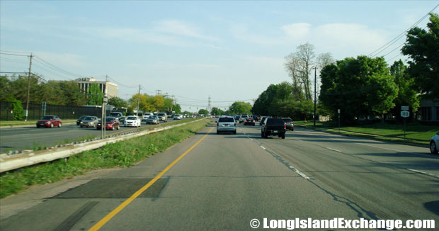 Route 110 Southbound from long Island Exchange, Farmingdale