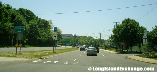 Route 111 Northbound at Motor Parkway Intersection, Central Islip