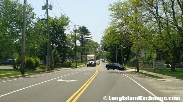 Route 111 Southbound rom Main Street, Smithtown
