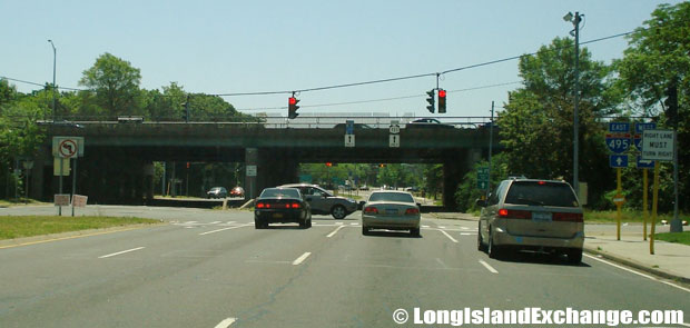 Route 111 Southbound towards Long Island Expressway Entrance, Hauppauge