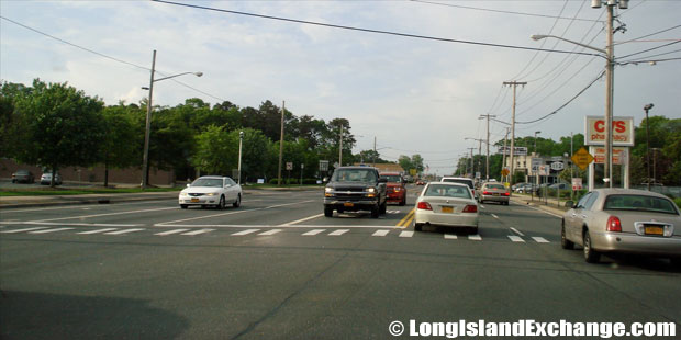 Route 112 Northbound towards Long Island Avenue, Medford