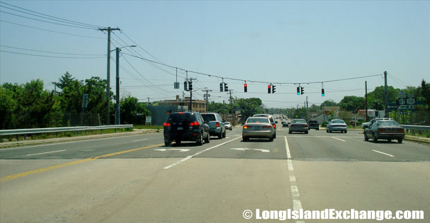 Route 112 Southbound towards East Main Street, Patchogue