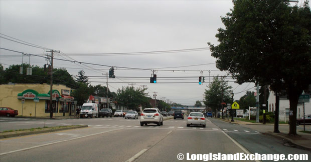 Route 231 Northbound at Lake Avenue, Deer Park