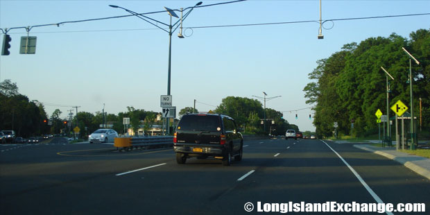 Route 347 Eastbound at Route 111, Hauppauge