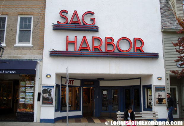 Sag Harbor Cinema Sign