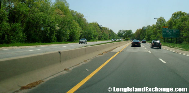 Sagtikos Parkway Southbound to Southern State Parkway, Brightwaters