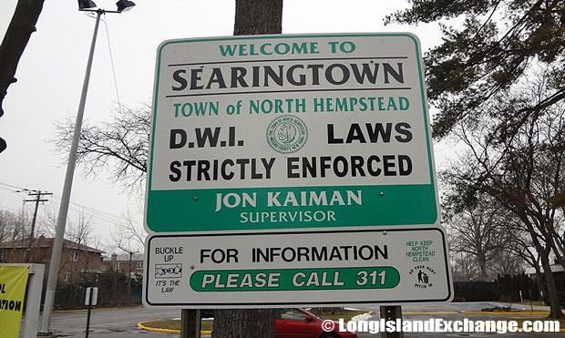 Sign Searingtown