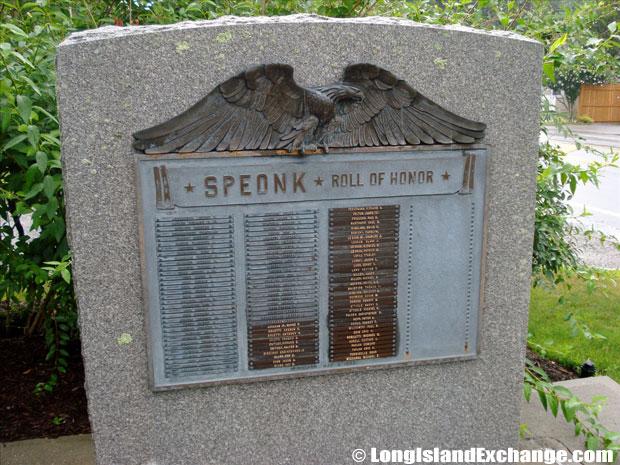 Speonk Dedication
