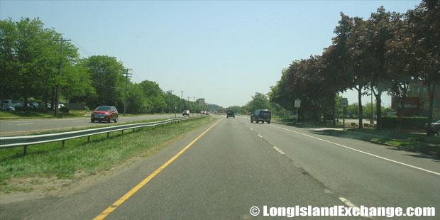 Veterans Memorial Highway Eastbound from Lakeland Avenue, Bohemia