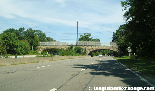 Wantagh State Parkway Northbound from Jerusalem Avenue