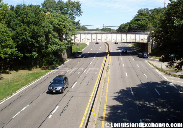 Wantagh State Parkway Northbound from Sunrise Highway, Wantagh