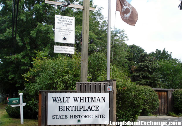 Walt Whitman Birthplace
