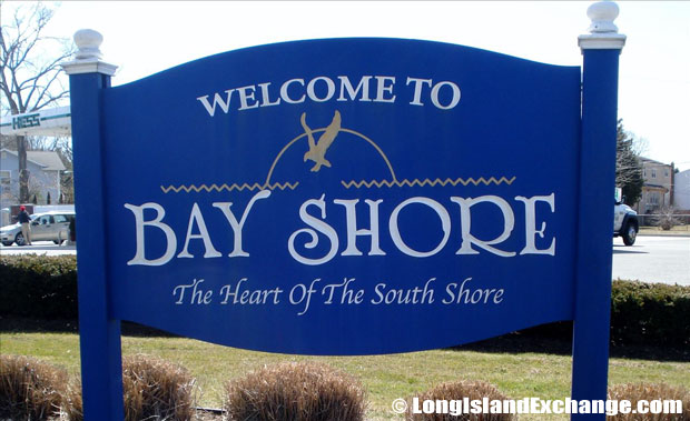 Bay Shore Sign