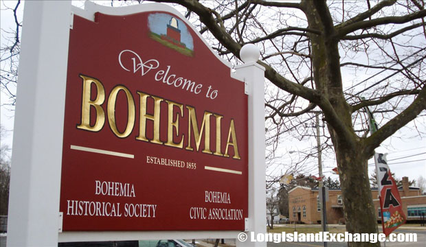 On March 5 1855, the area was founded and named Bohemia because it was settled by Slavic immigrants from a mountainous village near Kadam in the Eastern European province of Bohemia