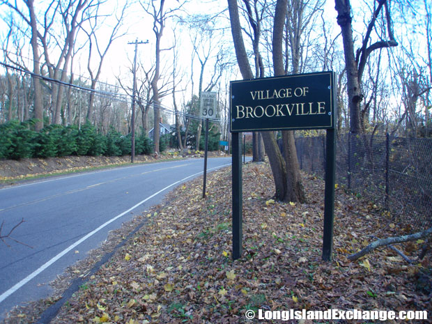 Brookville Welcome Sign