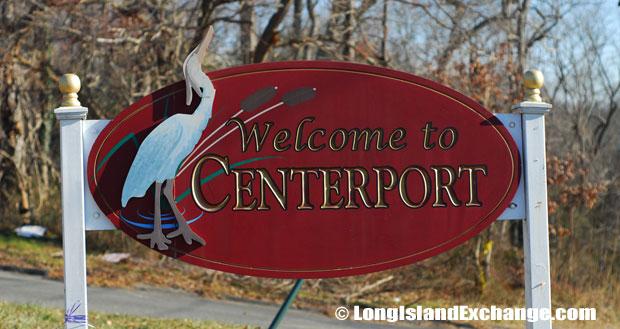 Centerport Sign