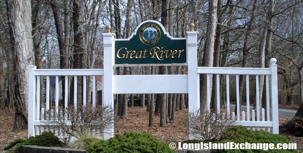 Great River Sign