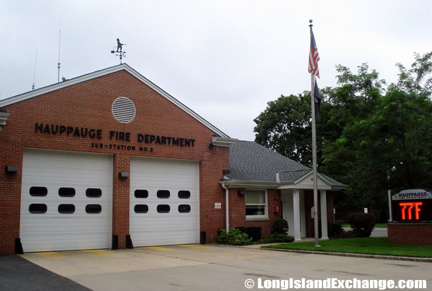 Hauppauge Fire Department, Substation 1, 119 Ledgewood Drive in Smithtown